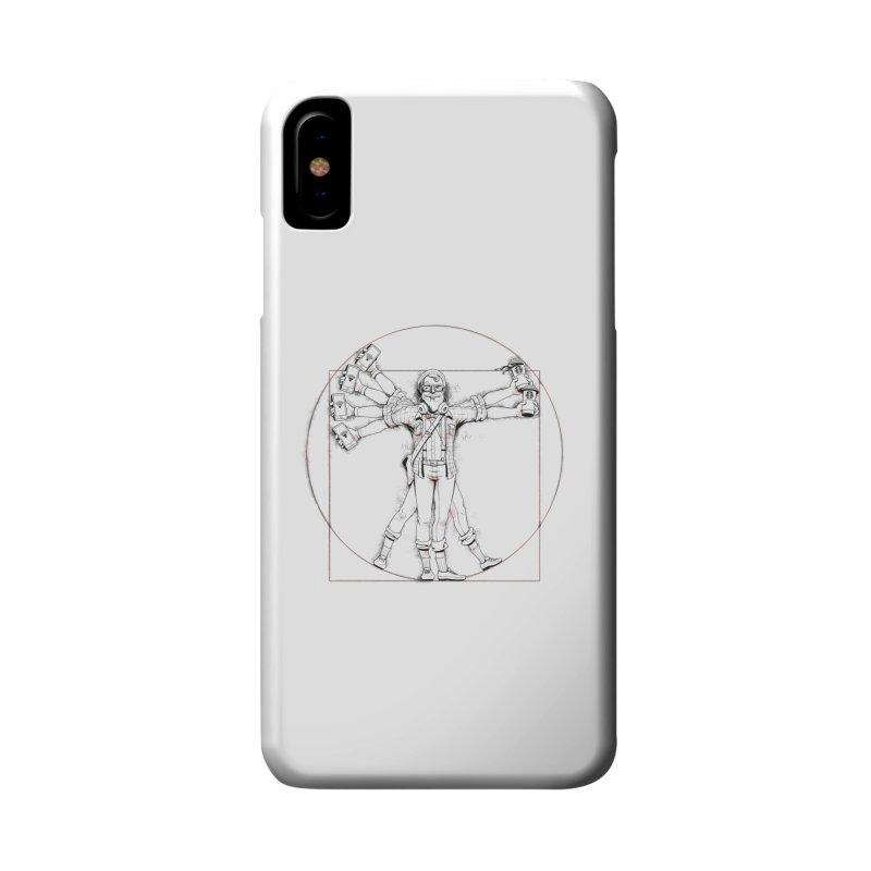 Hipstruvian Man Accessories Phone Case by T2U