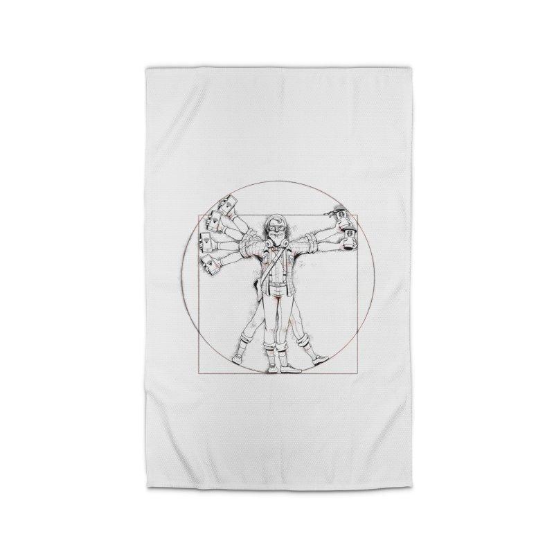 Hipstruvian Man Home Rug by T2U