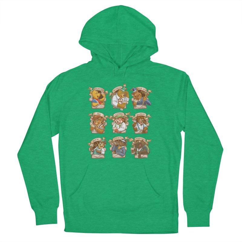 Beer Bears Women's Pullover Hoody by T2U