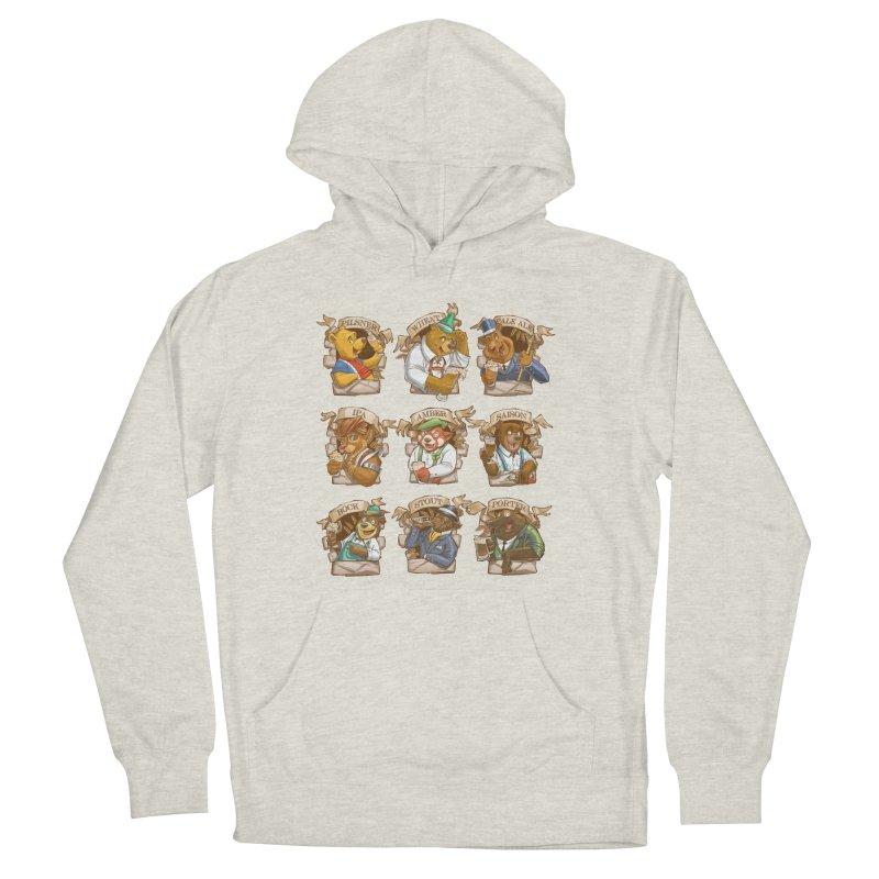 Beer Bears Men's Pullover Hoody by T2U