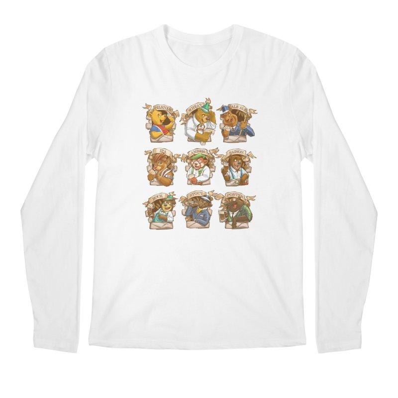 Beer Bears Men's Longsleeve T-Shirt by T2U