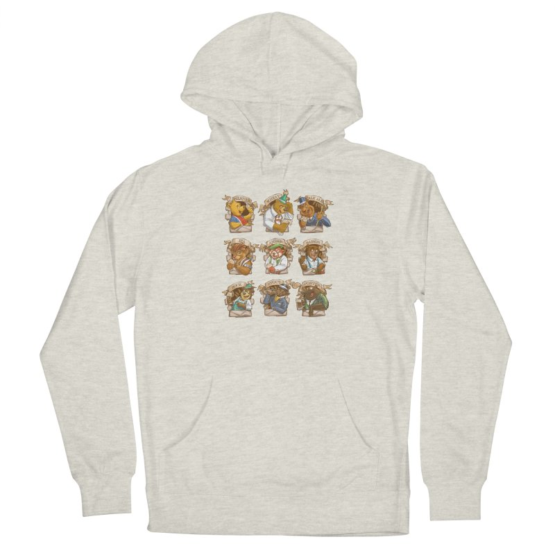 Beer Bears Men's Pullover Hoody by T2U