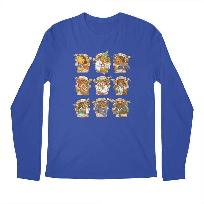 Beer Bears Men's Regular Longsleeve T-Shirt by T2U