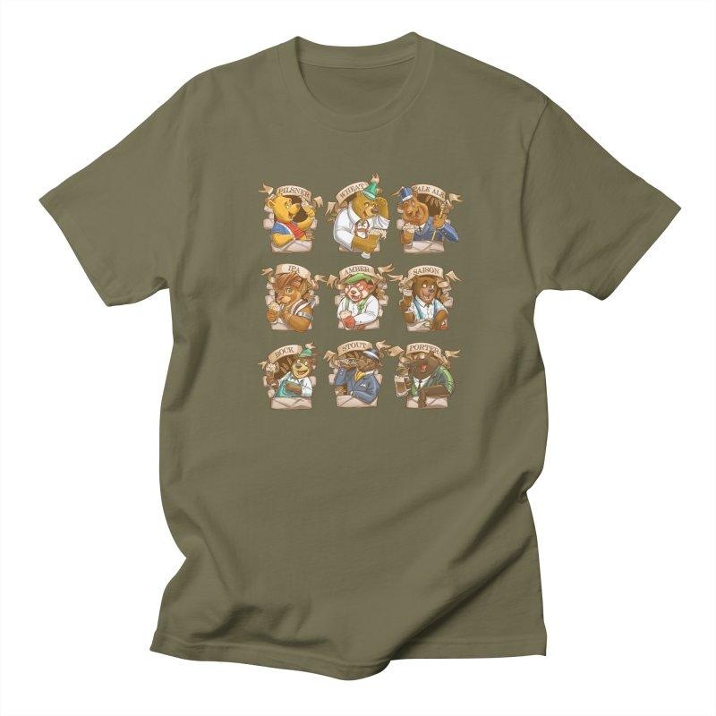 Beer Bears Men's Regular T-Shirt by T2U