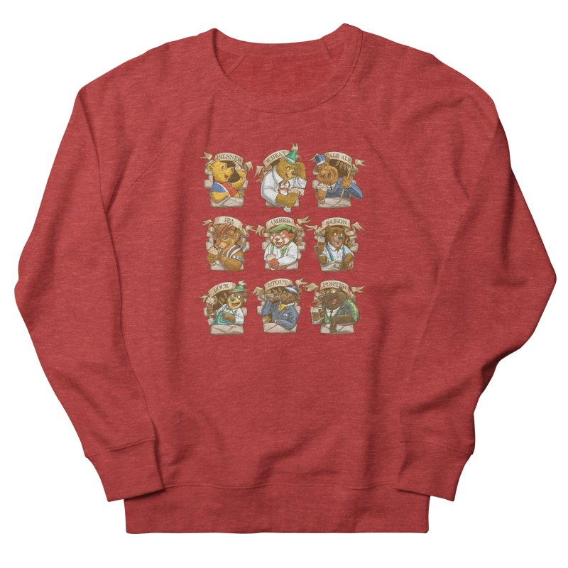 Beer Bears Women's French Terry Sweatshirt by T2U