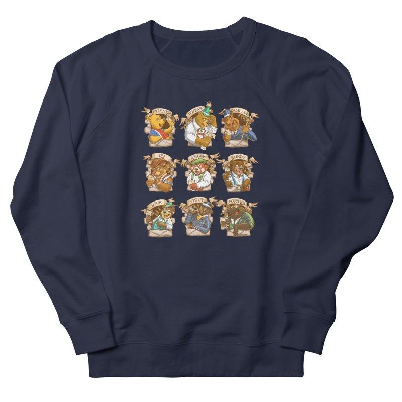Beer Bears Men's French Terry Sweatshirt by T2U