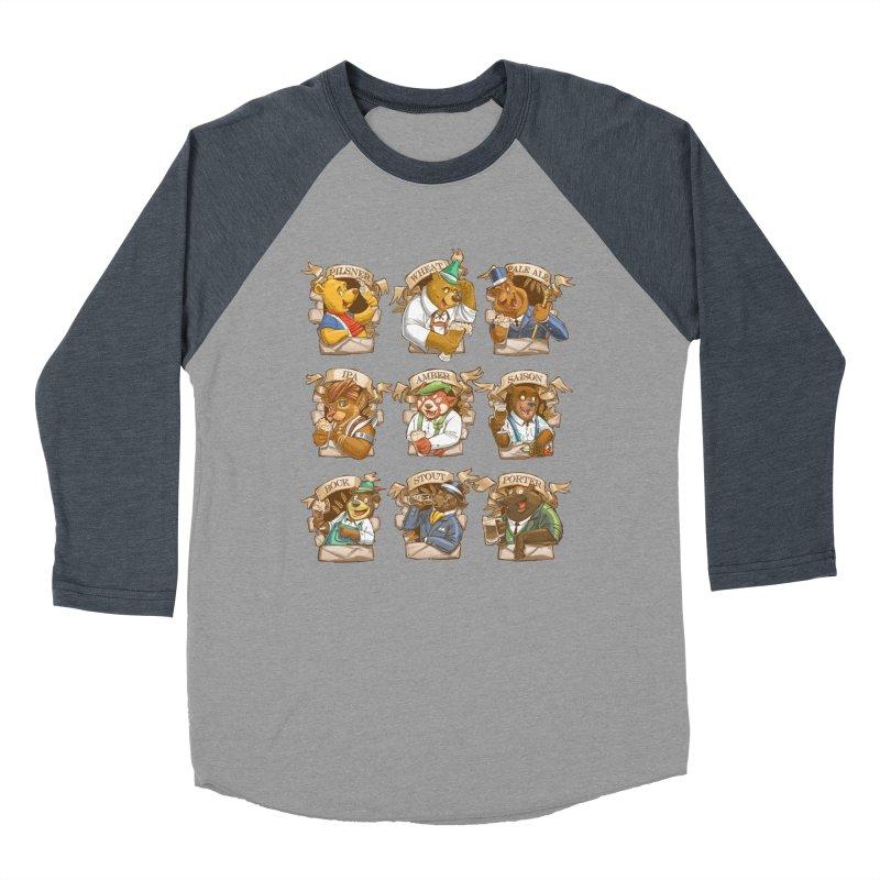 Beer Bears Women's Baseball Triblend Longsleeve T-Shirt by T2U