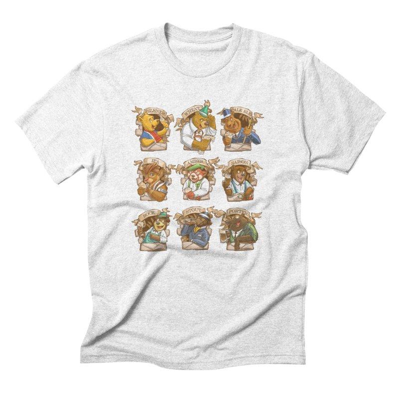 Beer Bears Men's Triblend T-shirt by Tiago Möller Art Shop
