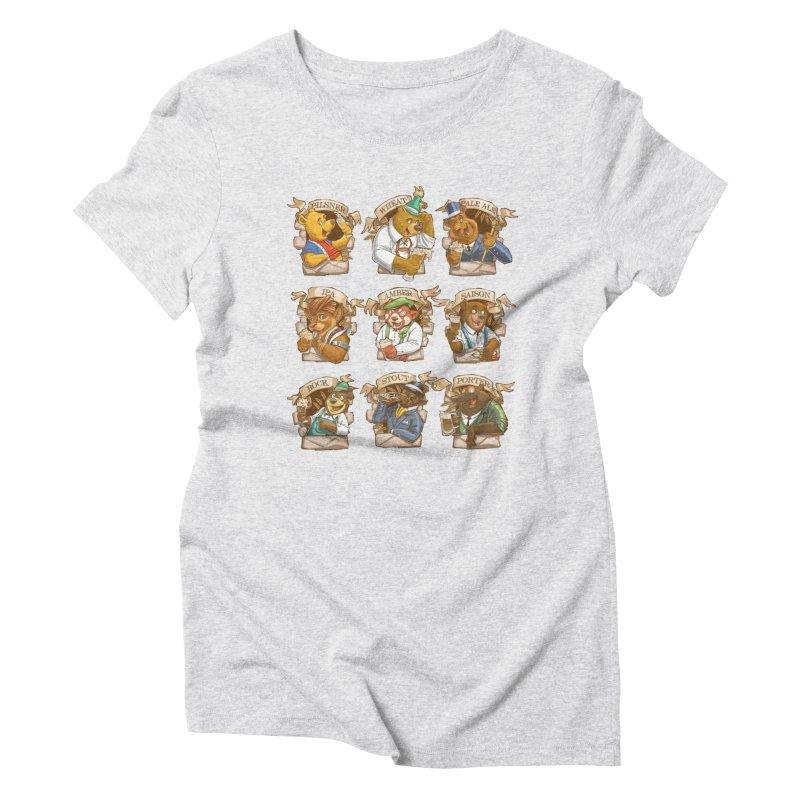 Beer Bears Women's T-Shirt by T2U