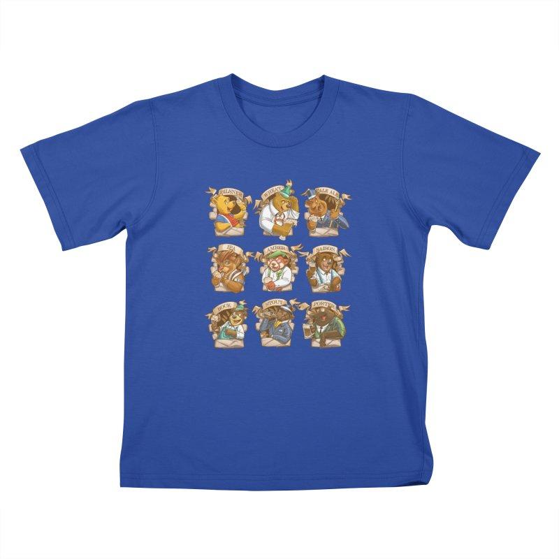 Beer Bears Kids T-Shirt by T2U