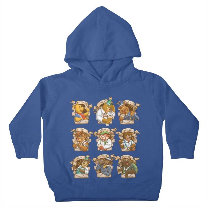 Beer Bears Kids Toddler Pullover Hoody by T2U