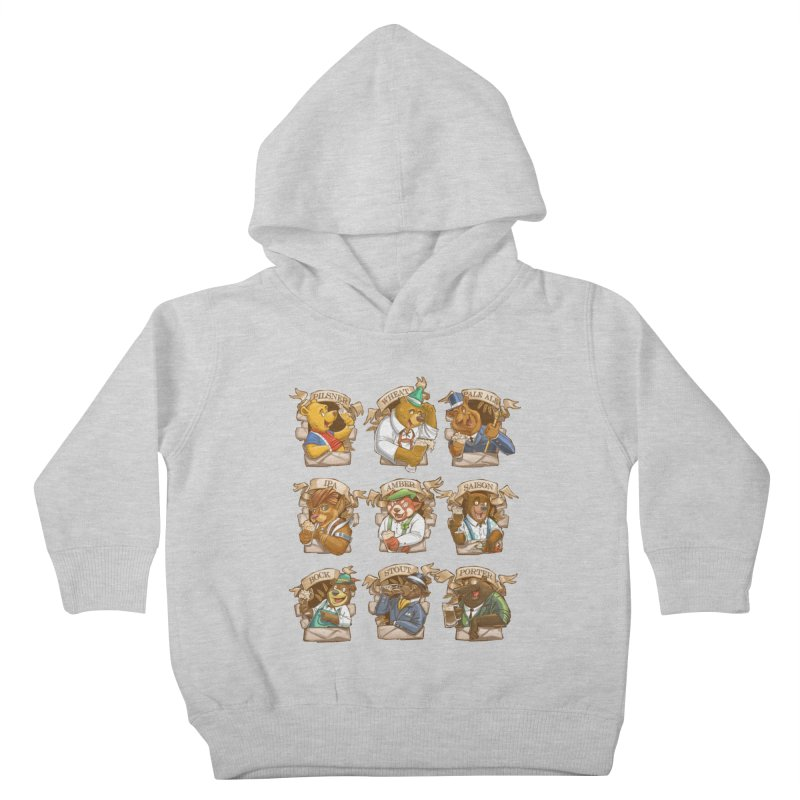 Beer Bears Kids Toddler Pullover Hoody by T2U