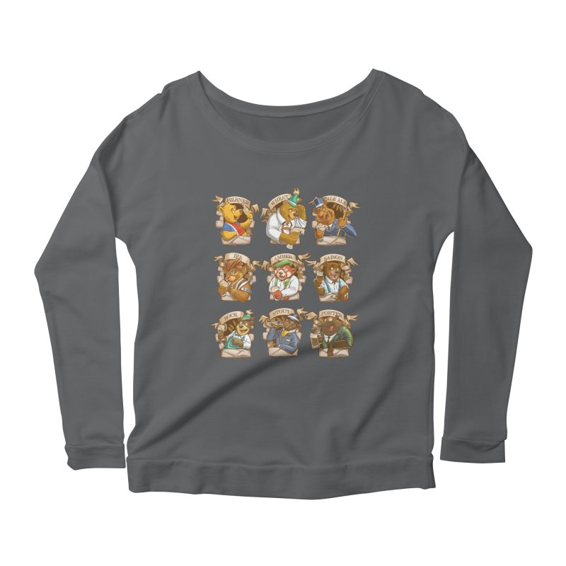 Beer Bears Women's Scoop Neck Longsleeve T-Shirt by T2U