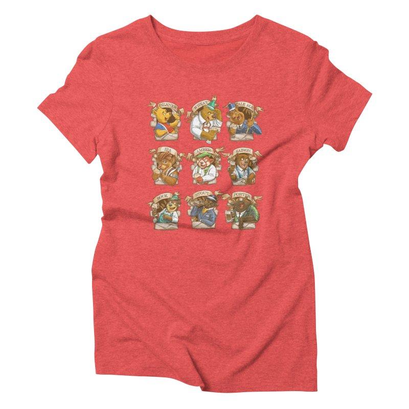Beer Bears Women's Triblend T-Shirt by T2U