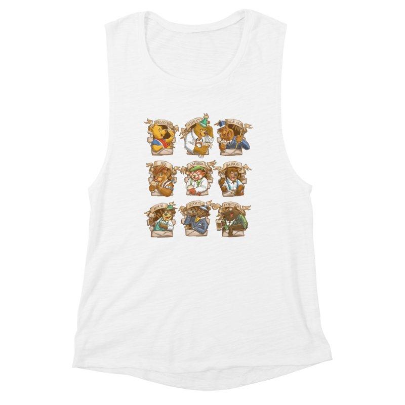 Beer Bears Women's Tank by T2U