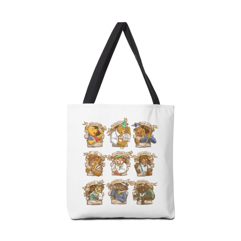 Beer Bears Accessories Tote Bag Bag by T2U