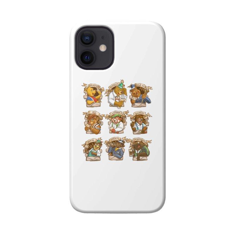 Beer Bears Accessories Phone Case by T2U