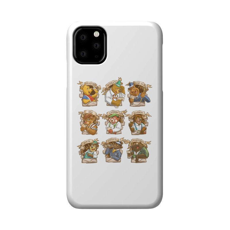 Beer Bears Accessories Phone Case by T2U