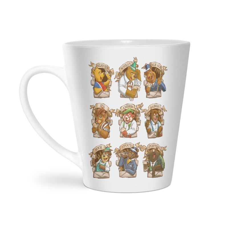 Beer Bears Accessories Latte Mug by T2U