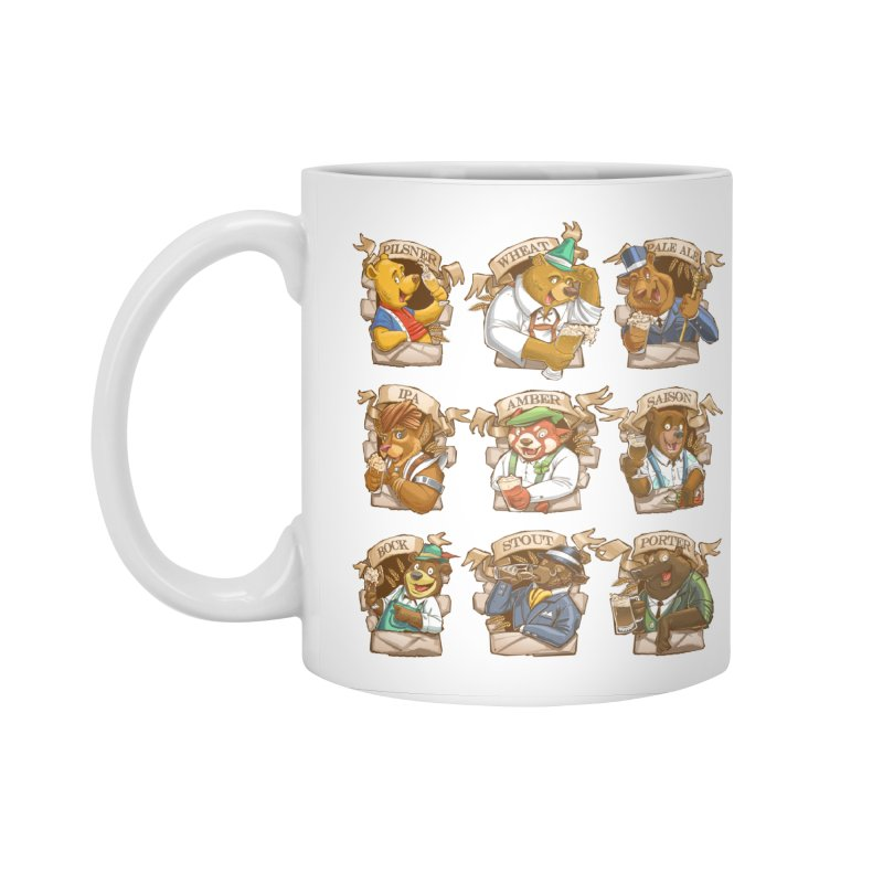 Beer Bears Accessories Standard Mug by T2U