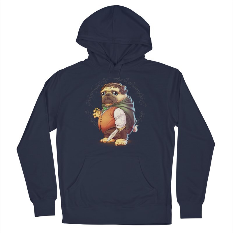 Frodo Puggins Women's French Terry Pullover Hoody by T2U