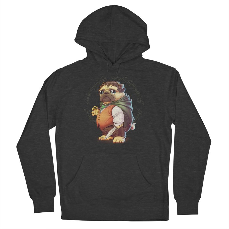 Frodo Puggins Men's French Terry Pullover Hoody by T2U