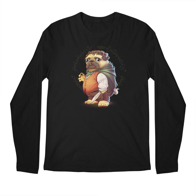 Frodo Puggins Men's Longsleeve T-Shirt by Tiago Möller Art Shop
