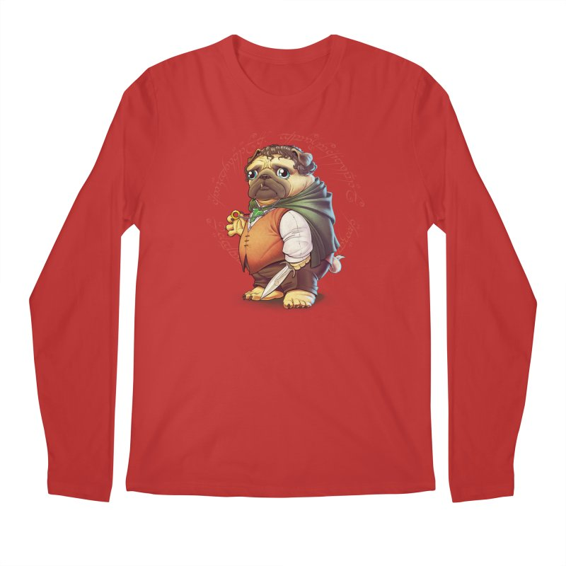 Frodo Puggins Men's Regular Longsleeve T-Shirt by T2U