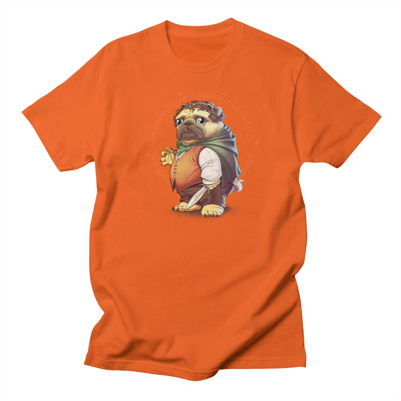 Frodo Puggins Men's T-shirt by Tiago Möller Art Shop