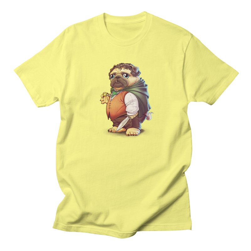 Frodo Puggins Men's T-shirt by Tiago Möller Art Shop