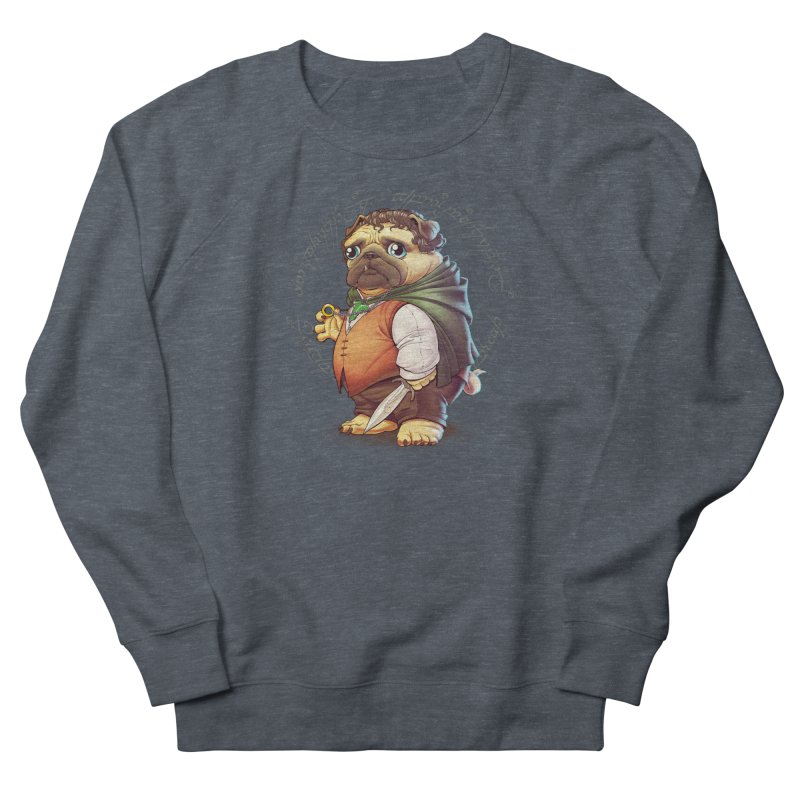 Frodo Puggins Men's Sweatshirt by Tiago Möller Art Shop