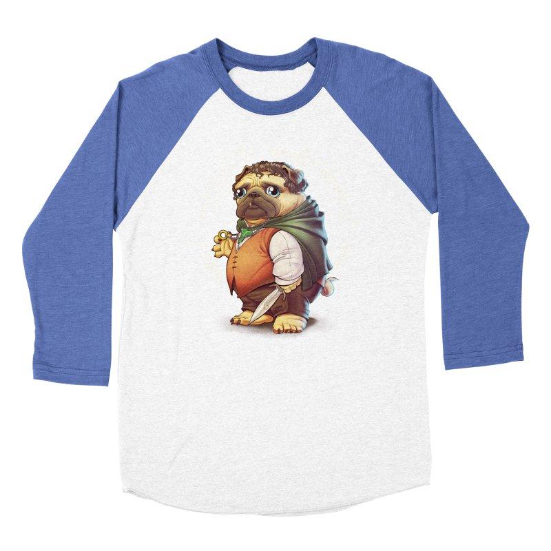 Frodo Puggins Men's Baseball Triblend T-Shirt by Tiago Möller Art Shop