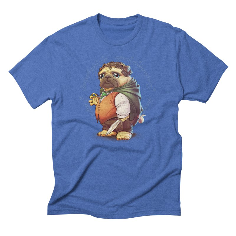 Frodo Puggins Men's Triblend T-shirt by Tiago Möller Art Shop