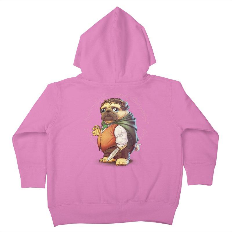 Frodo Puggins Kids Toddler Zip-Up Hoody by T2U