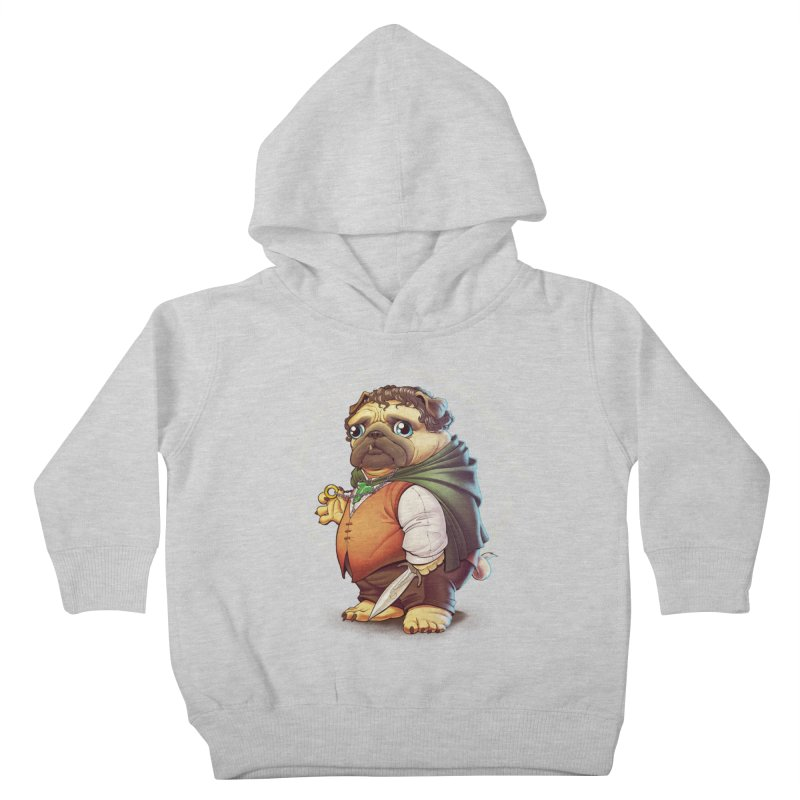 Frodo Puggins Kids Toddler Pullover Hoody by T2U