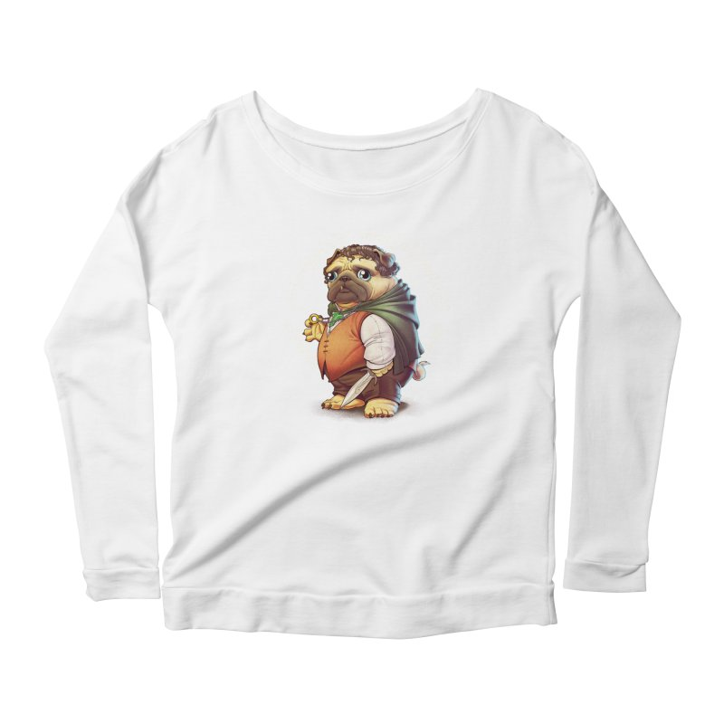 Frodo Puggins Women's Longsleeve T-Shirt by T2U