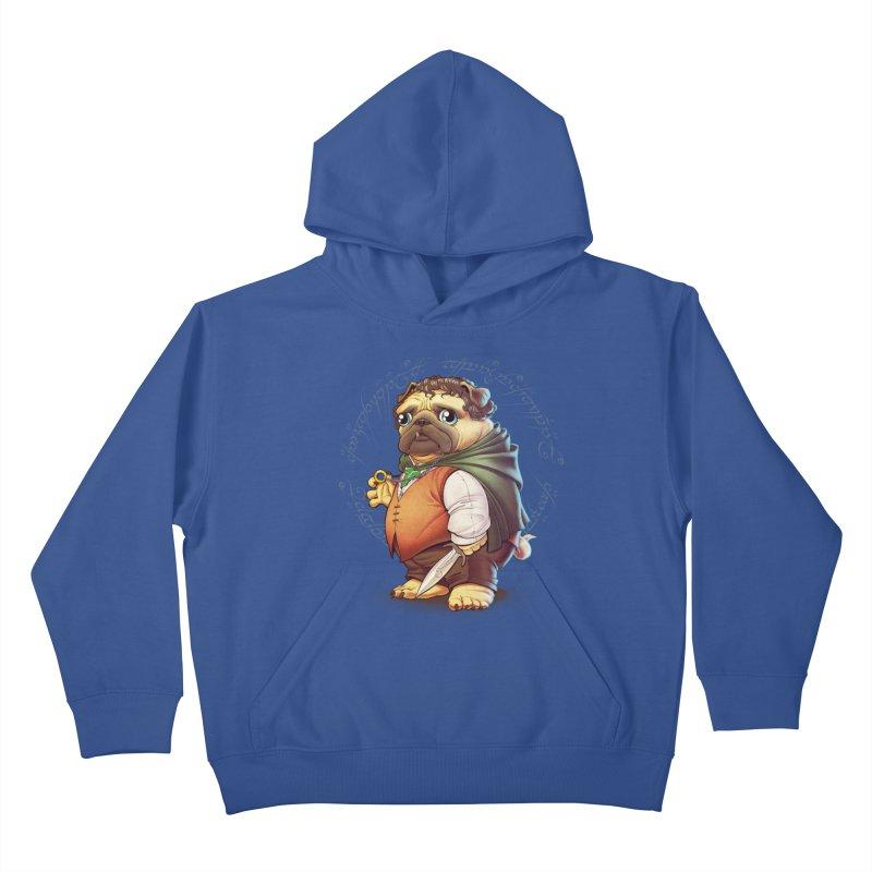 Frodo Puggins Kids Pullover Hoody by T2U