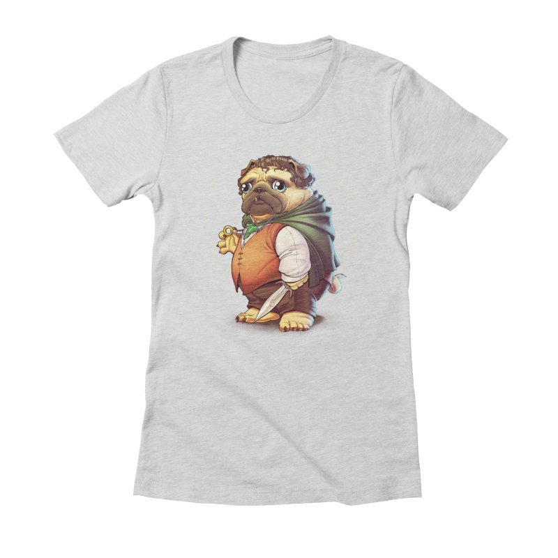 Frodo Puggins Women's T-Shirt by T2U