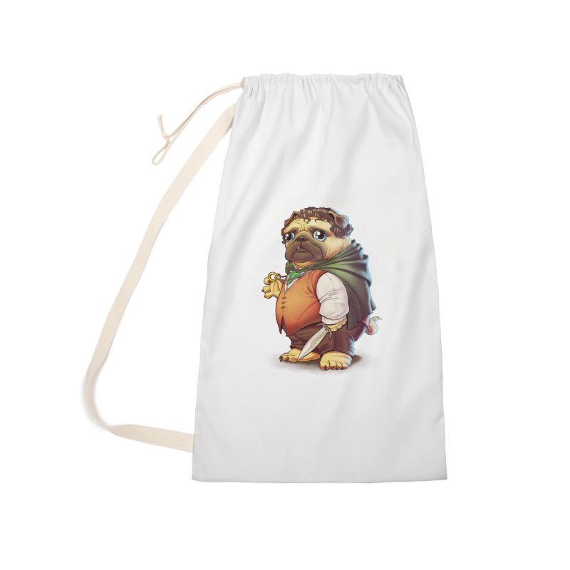 Frodo Puggins Accessories Laundry Bag Bag by T2U