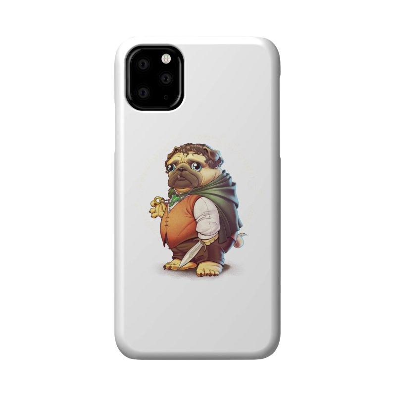 Frodo Puggins Accessories Phone Case by T2U