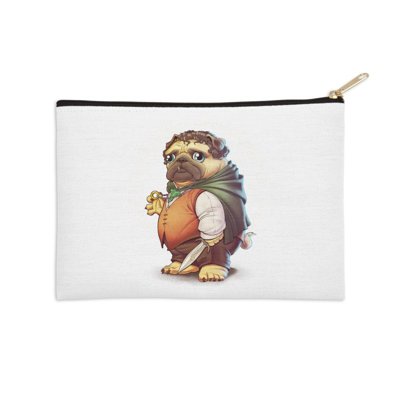 Frodo Puggins Accessories Zip Pouch by T2U