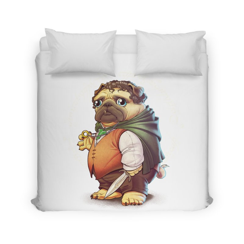 Frodo Puggins Home Duvet by Tiago Möller Art Shop