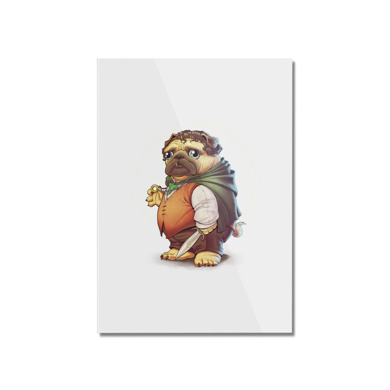 Frodo Puggins Home Mounted Acrylic Print by T2U