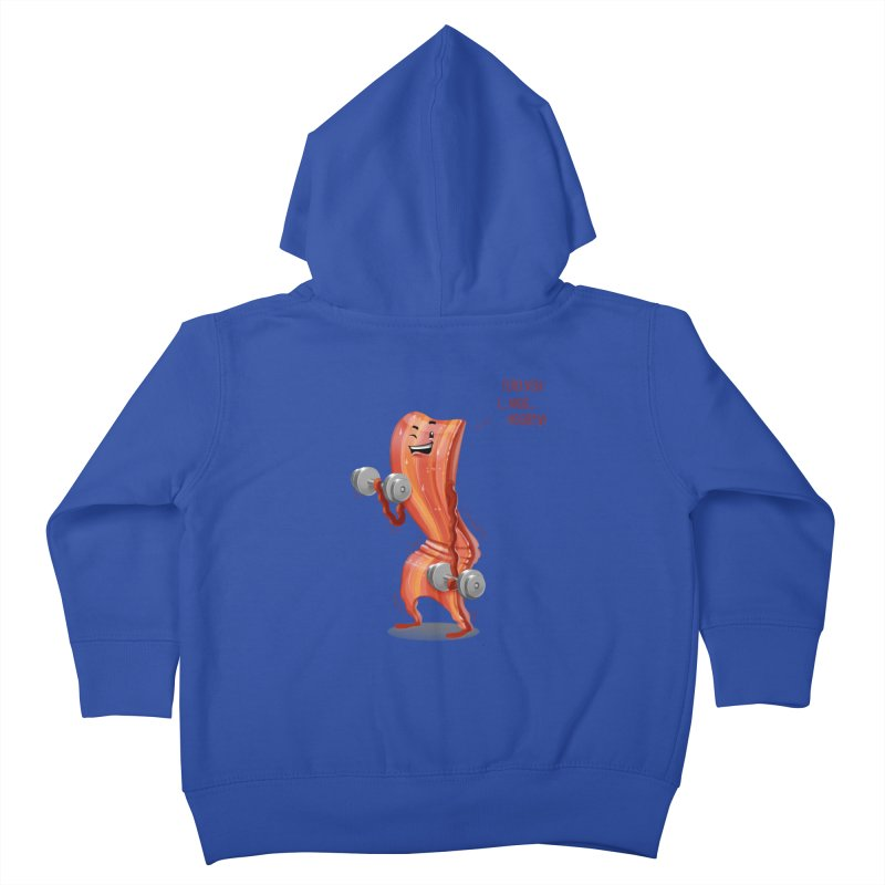 Bacon is Healthy Kids Toddler Zip-Up Hoody by T2U