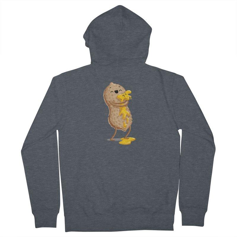 Peanut'n Butter Men's Zip-Up Hoody by T2U