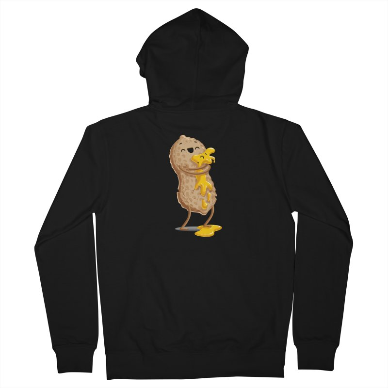 Peanut'n Butter Men's French Terry Zip-Up Hoody by T2U