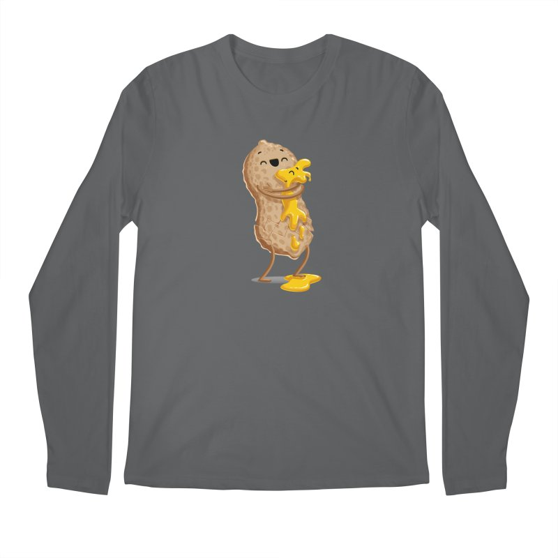 Peanut'n Butter Men's Longsleeve T-Shirt by T2U