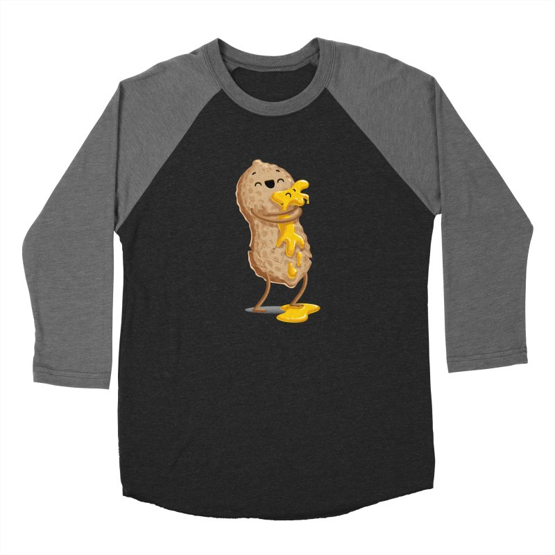 Peanut'n Butter Men's Baseball Triblend Longsleeve T-Shirt by T2U