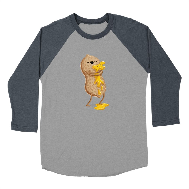 Peanut'n Butter Men's Baseball Triblend T-Shirt by Tiago Möller Art Shop