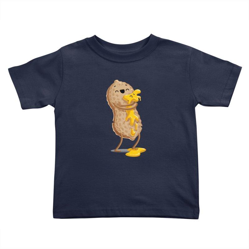 Peanut'n Butter Kids Toddler T-Shirt by T2U